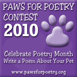 Paws for Poetry Contest